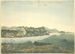 View of Shimoga (Mysore). 27 August 1805. Signed 'Wm R.'